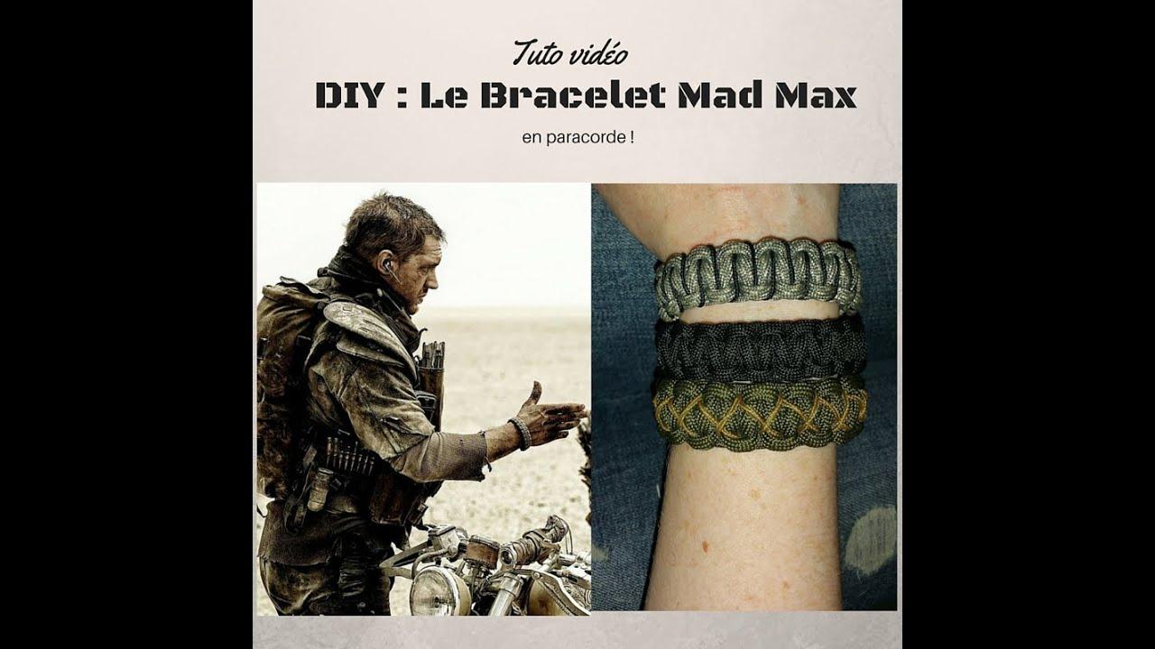 Top DIY : Le Bracelet Mad Max en Paracorde - YouTube ZX53