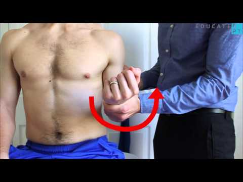 Forearm Supination MMT