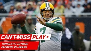 Brett Hundley's Aaron Rodgers-like DIME TD Pass! | Can't-Miss Play | NFL Wk 10