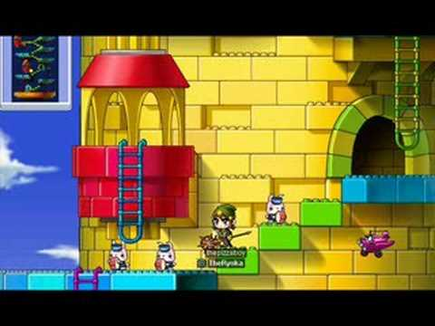 Maple Story Music - Outside Eos Tower
