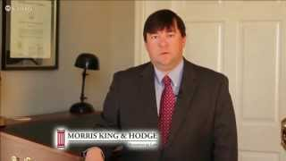 Huntsville Alabama Attorney:  Morris, King & Hodge Car Wreck Lawyers