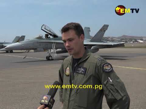 A visit from the Royal Australian Air force Fighter Jets