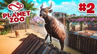 BUILDING A NEW HABITAT! - Planet Zoo #2 w/ Vikkstar