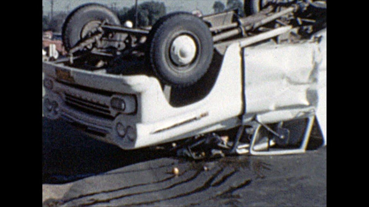 San Diego: Traffic Accident - Circa 1960