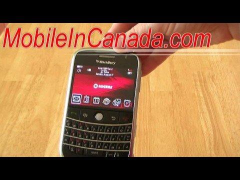 BlackBerry Bold 9000 WiFi Rogers ( www.MobileInCanada.com )