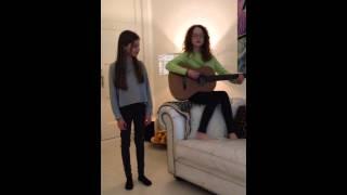 Deelname Junior Songfestival Carlotta en Lily Ik blijf bij jou