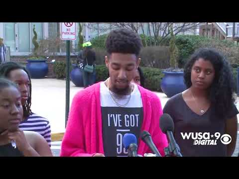 RAW: Howard students continue push for action after embezzlement scandal