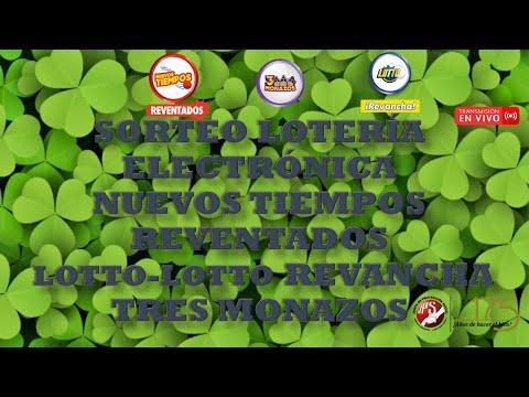 Sorteo Lotto y Lotto Revancha #2115, N Tiempos Reventados #18458 y 3 Monazos #884  13-03-2021 JPS