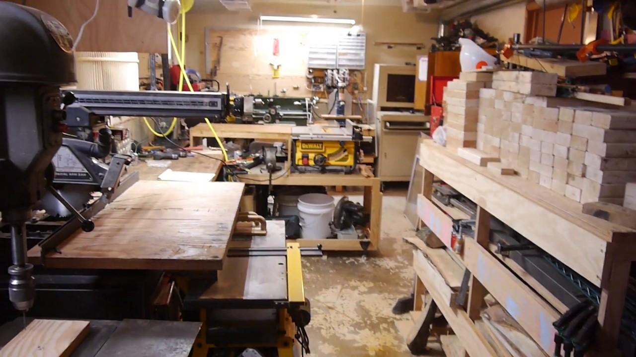 Shop Tour 2017 My Single Car Garage Shop Setup To Date