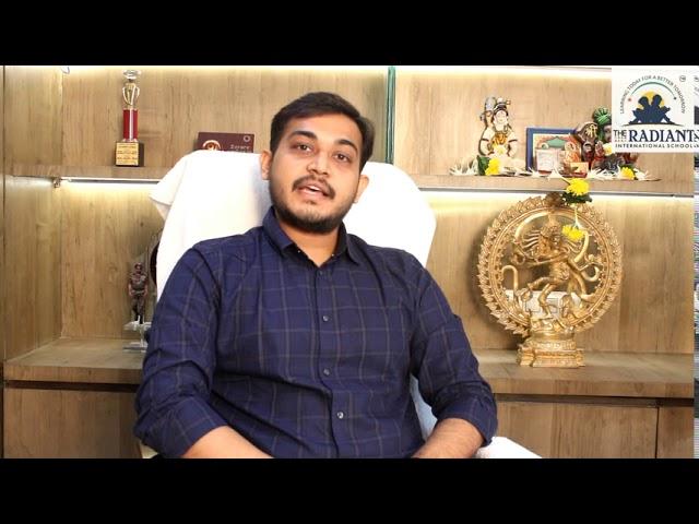 Manthan (chapter-1) Fighting the pandemic - Message by Managing Director Mr. Kishankumar Mangukiya