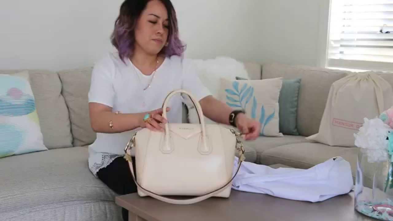 d94236f260a4 Givenchy Antigona Bag Review - Small Antigona in Beige Smooth Calfskin -  YouTube