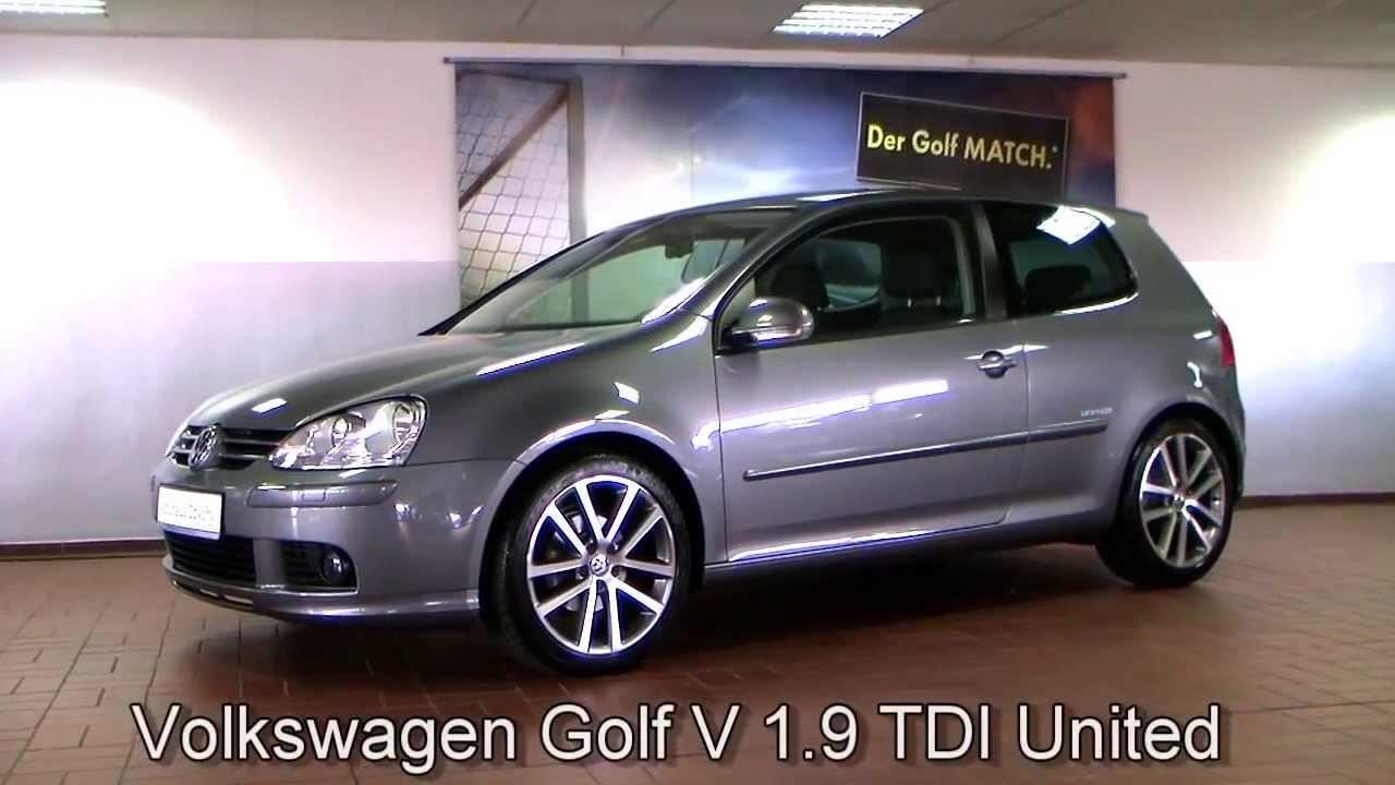 Volkswagen Golf V 1 9 TDI United DPF 2008 United Grey 8W339043