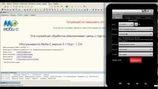 Мобильная торговля для планшета Моби-С