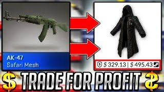 BEST WAY TO TRADE CSGO SKINS FOR PUBG SKINS & MAKE PROFIT!! How to Trade CS GO Knives for PUBG Skins