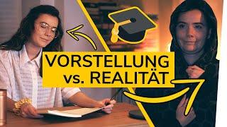 ERWARTUNG vs. REALITÄT | Film Studium & Uni | alwaysxcaro