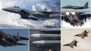 挑戰新聞軍事精華版--支援「F-22」,波音升級「F-15C」戰機成「空中飛彈卡車」