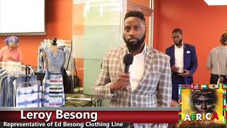 Leroy Besong Speaks on the Global Goals of The Ed Besong Brand