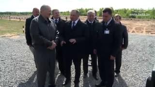 Лукашенко протестировал новые автомобили «Geely» 3 04 2014