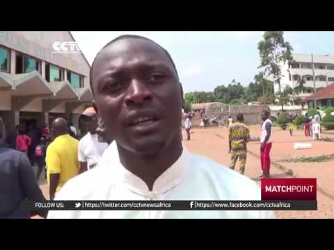 35551 sport Welt CCTV Afrique Kung Fu gaining popularity among the youth in Cameroon