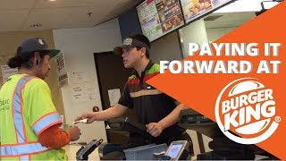 Random Act of Kindness Collab | Paying It Forward At Burger King