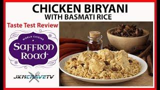Saffron Road | Chicken Biryani with Basmati Rice | Taste Test Review | JKMCraveTV