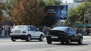 VW Golf II Turbo 400PH vs Mazda MX-3 Turbo