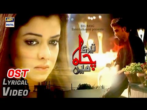 Teri Chah Main OST | Title Song By Farhan Saeed | With Lyrics