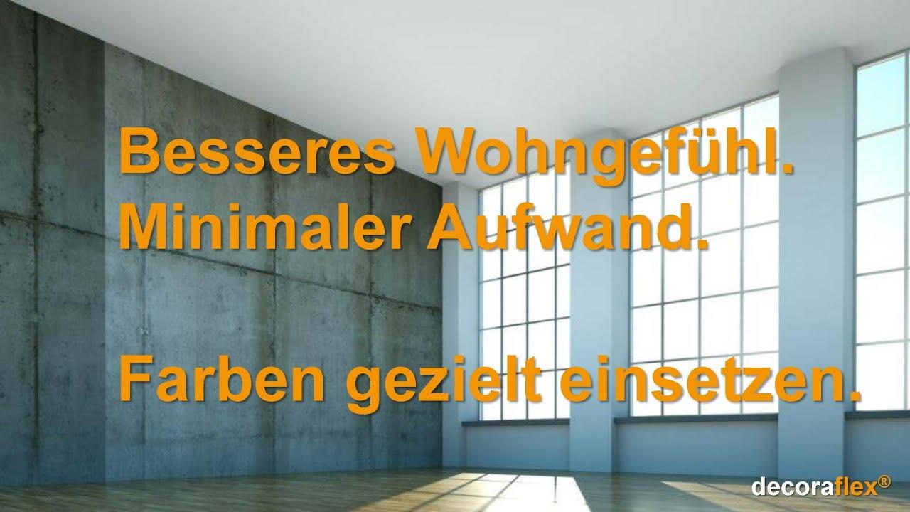 Decoraflex Wandgestaltung - Wohnatmosphäre steigern mit ...