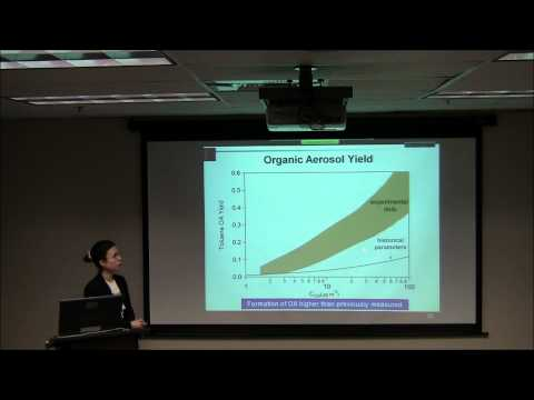 Astani Dept. Seminar: Atmospheric Organic Nanoparticles:Importance, Challenges and Progress