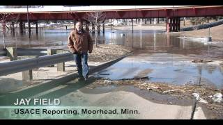 Corps of Engineers prepares for Red River of the North Flood Fight 2011