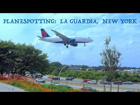 Planespotting New York LaGuardia Airport ✈ (select 1080p)