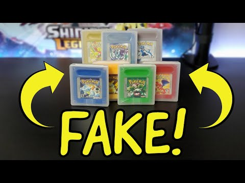 I Bought FAKE Pokemon Games Off Ebay AGAIN! Gameboy Color