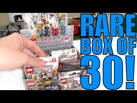 Opening A *RARE* LEGO Series 9 Minifigures BOX Of 30!