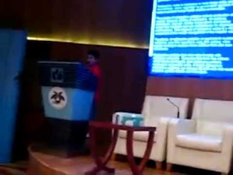 8 year old Pritvik Sinhadc's EEG Lecture on the Impact of Radioactive Waste