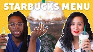 Tasting Starbucks