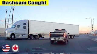 Ultimate North American Cars Driving Fails Compilation - 122 [Dash Cam Caught Video]