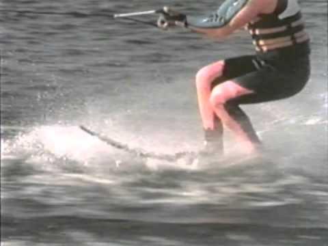 How to WAKE JUMP on a Slalom Ski- Hot Dog Water Skiing Instruction / Tips & Tricks