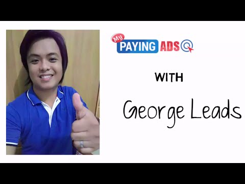 My paying ads tagalog with George Leads