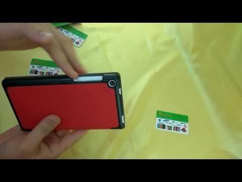 Чехол для планшета Lenovo Tab 3 TB3-730x. Обзор модели Lux