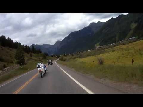 San Juan Skyway: Colorado 145 Rico to Telluride