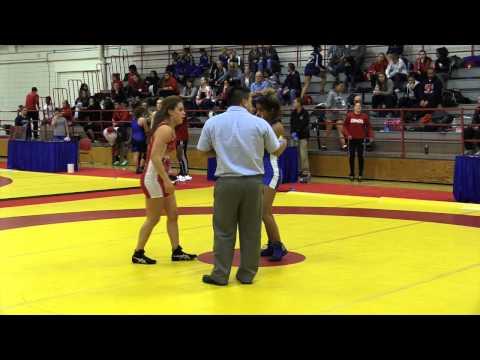 2015 Nordhagen Classic: 53 kg Cara Nania vs. Nikkie Brar