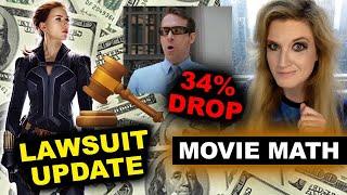Disney Scarlett Johansson Lawsuit Update, Free Guy 34% Drop 2nd Weekend