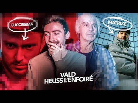 Mon père réagit à Vald + Heuss L'enfoiré – Guccissima / Matrixé