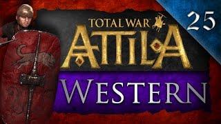 Total War: Attila - Western Roman Empire Campaign Ep. 25 - Peace Sassanids