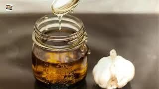 Напиток из меда чеснока для иммунитета!!!!!!!