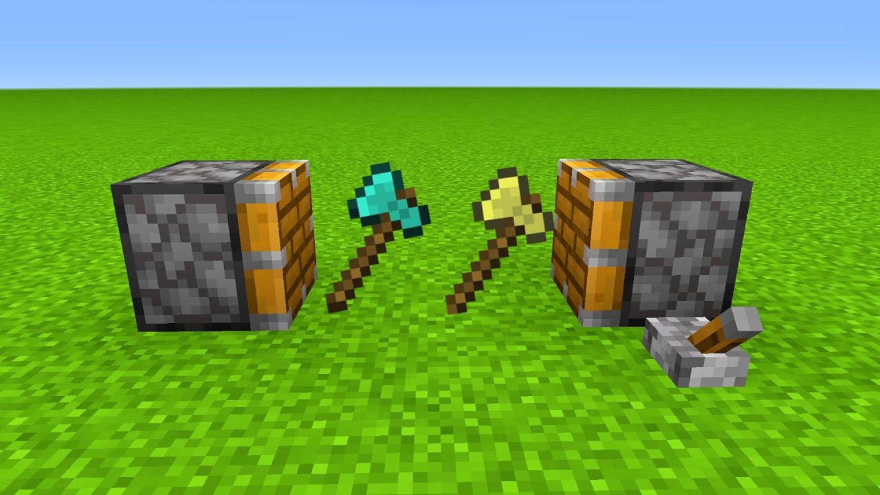 DIAMOND Axe + GOLDEN Axe = ???