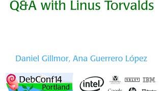Linus Torvalds en la DebConf14 (Subtitulado)