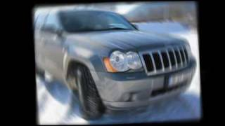 A drive test in winter conditions with the new Jeep Grand Cherokee