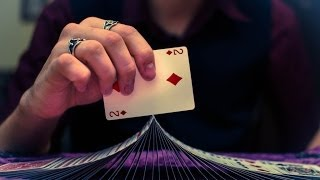 Beginner Card Flourish Tutorial: Ribbon Spread and Flip(52Kards is the most comprehensive free online resource for learning card magic on the internet. Use it well. ▻ http://52Kards.com/library ▽ Video Description ..., 2013-05-23T18:00:34.000Z)