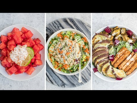 What I Eat In a Day: Easy Vegan Summer Meals!